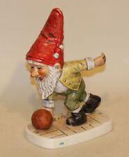 1975 Goebel Co-Boy Gnome Figurine Jim The Ninepins Bowler 526 TMK-5