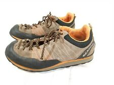 🔥 Scarpa Crux Mens Approach Climbing Shoes Size 8 Brown suede
