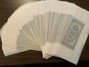 "Currency (World) - China 64 ""J"" Notes J130b & J141a - UNC - CatVal $783.50"