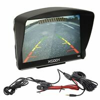 XGODY 560 5'' Car HGV LGV SAT NAV GPS Navigation Bluetooth Wired Rearview Camera