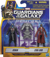 Marvel Guardians of the Galaxy Starlord and Ronan Action Figure Twin Pack