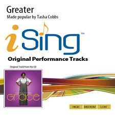 Tasha Cobbs - Greater - Accompaniment Track