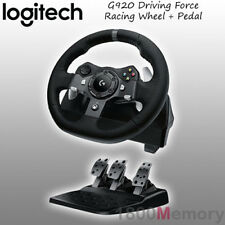 Logitech G920 Driving Force Racing Wheel for Microsoft Xbox One PC MAC