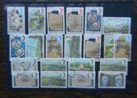 Mauritius 1978 values to 25R Fine Used