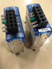 LOT OF 2 OMRON S8VM-01524 CD POWER SUPPLY S8VM-01524CD USED J6
