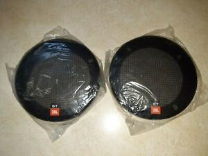 """Vintage JBL (GT) 6 1/4"""" round - (2) Auto Speaker Covers (RARE) - Covers Only"""