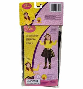Emma The Wiggles Yellow Book Week Toddler Girls Costume Footless Tights 18-36M