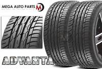 2 New Advanta HPZ-01 305/35R24 112V All Season 40,000 Mile M+S Performance Tires