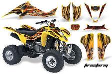 ATV Decal Graphic Kit Wrap For Suzuki LTZ400 Kawasaki KFX400 2003-2008 FRSTRM Y