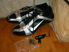 NEW NIKE BLACK/SILVER BOWERMAN SERIES LIGHTWEIGHT TRACK AND FIELD SHOES SIZE 13