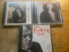 Joe Cocker [3 CD Alben] LIVE + Night Calls + Organic