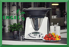 Vorwerk Thermomix TM 31 transparent plastic Varoma Kitchen appliance TM31 Bimby
