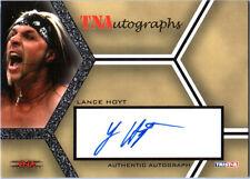 TNA Lance Hoyt 2008 Impact SILVER Authentic Autograph Card DWC2
