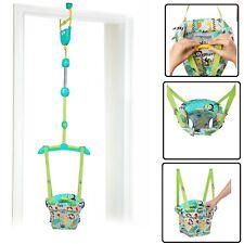 Bright Starts Baby Door Jumper Swing Bouncer Adjustable Baby Infant Safari Toy