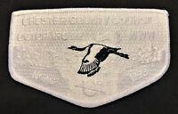 OA OCTORARO LODGE 22 CHESTER COUNTY COUNCIL PA BSA NOAC 1998 WHITE GHOST FLAP