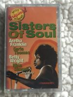 SISTERS OF SOUL  (ARETHA FRANKLIN--RESPECT & VARIOUS ARTISTS) SEALED CASSETTE