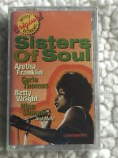 SISTERS OF SOUL  (ARETHA FRANKLIN--RESPECT & VARIOUS ARTISTS) SEALED Cassette!