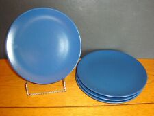 IKEA Blue BREAD/DESSERT PLATES Set of 4 Replacement # 10866 IKEA Sweden