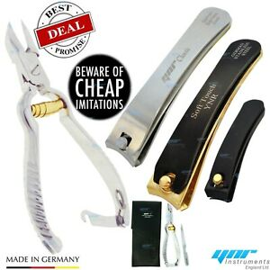 Toe Nail Clippers Nippers Cutter Chiropody Heavy Duty nail Art GERMAN Manicure