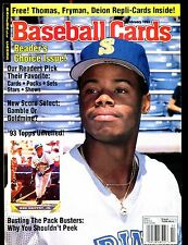 Baseball Cards Magazine February 1993 Ken Griffey Jr. w/Mint Cards jhscd4