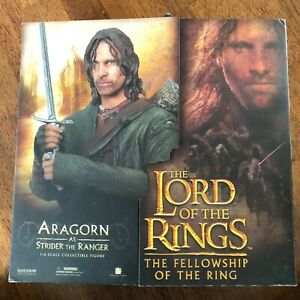 Sideshow Collectibles Lord of the Rings ARAGORN 1:6 Collectible Figure
