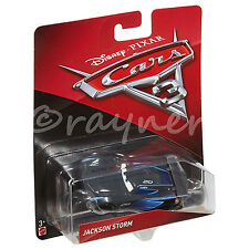 Cars 3 Jackson Storm Vehicle Disney Cars DXV34 1:55 scale Die Cast