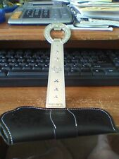 Toby Keith Bottle Opener with Leather Sheath Holster Exclusive VIP Fan Club