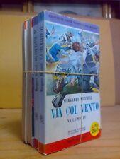 Margaret Mitchell - VIA COL VENTO - 1958 - completo in 4 voll.