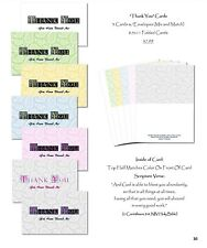 "(Large) ""Thank you"" Cards (7-card variety pack with envelopes)"