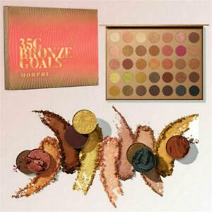 New  Morphe The James Charles And 35G Bronze Goals Artistry Eyeshadow Palette.