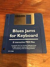 BLUES JAMS FOR KEYBOARD 8 Interactive Midi Files