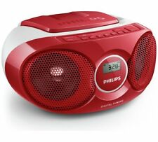 Philips AZ215R/05 Boombox - Red - CD Soundmachine