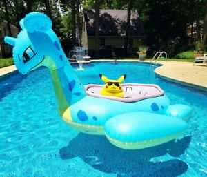 Lapras Pokemon Center Sunset Inflatable Pool Float New In Box- RARE IN HAND 🌊