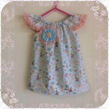 Summer Blue Dresses for Girls