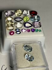 Natural Loose Mixed Gemstone Lot Winza Ruby Pink Blue Sapphires Heliodor Aquamar
