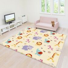 Indoor Baby Carpet Waterproof Play Crawling Mat Kids Play Area Rug 180*150*0.5cm