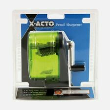 X-Acto Bulldog PENCIL SHARPENER Manual ASSORTED COLORS Wall Mount See-Through