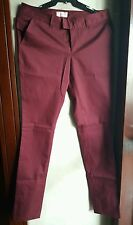 ORIGINAL PENGUIN WOMEN'S DRESS PANTS-MAROON Size 4