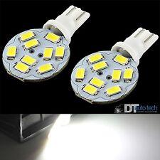 660 Lumens 10X T10/921 RV Trailer Interior 12V LED Light Bulbs 9 High Power Chip