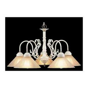 Classic Lighting Chandelier - 3055W-PB