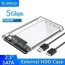 ORICO HDD Case 2.5 inch Transparent SATA to USB 3.0 Hard Disk Box Enclosure