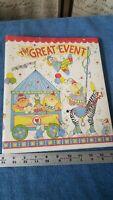 C.R. Gibson Circus Collection Baby Book Scrapbook & Photo Album 10x12