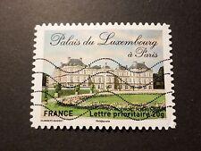 FRANCE 2012, timbre AUTOADHESIF 730 CHATEAU PALAIS LUXEMBOURG oblitéré CASTLE