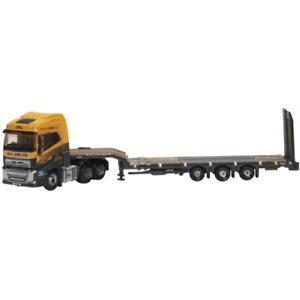 Oxford NVOL4009 Volvo FH4 Semi Low Loader G F Job 1/148