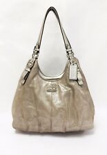 COACH 16503 Madison Metallic Leather Shoulder Bag Handbag