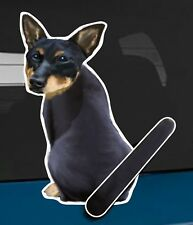 Lancashire Heeler Dog and Animal rear window wiper sticker - 10 inches tall