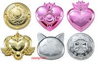 Bandai Sailor Moon Make Up Beauty Compact Mirror 2 Gashapon set 6 pcs