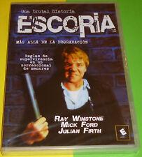 ESCORIA / SCUM Alan Clarke - English Español -DVD R2- Precintada