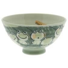 "10x Japanese 4""Green Chorus of Frogs  Rice Bowl #130-541"