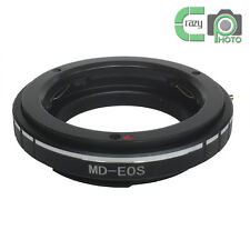 MD-EOS Minolta MD MC Lens to Canon EOS EF 5DIII 7D 60D Mount Adapter No Glass